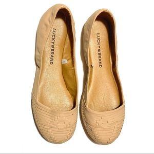 Lucky Brand Emily Ballet Flats 6M
